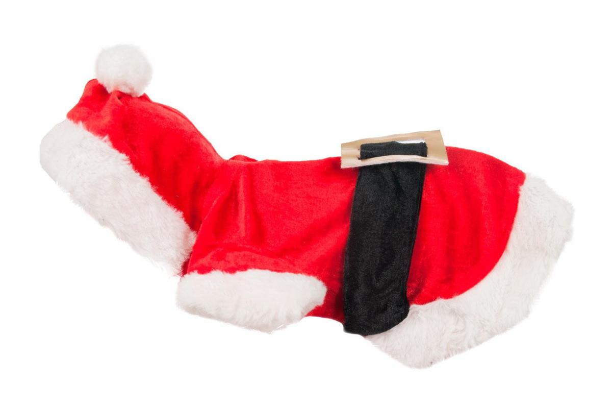 Dog Coat Santa Costume 35cm