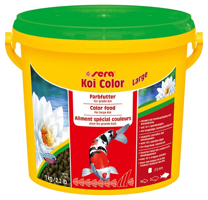 Fiskefor Sera Koi Color Large 3,8l. 7025