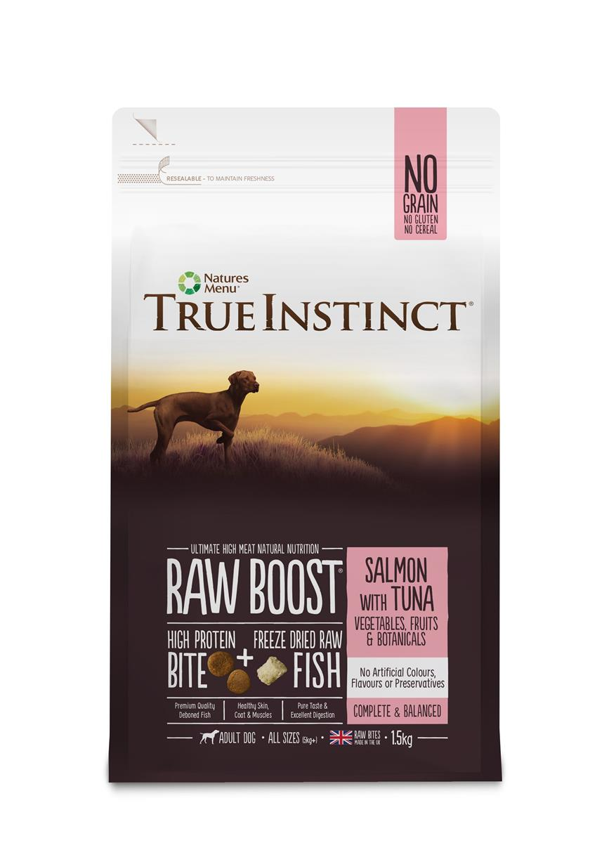 True Instinct Raw Boost Hund Laks & Tunfisk 1,5Kg