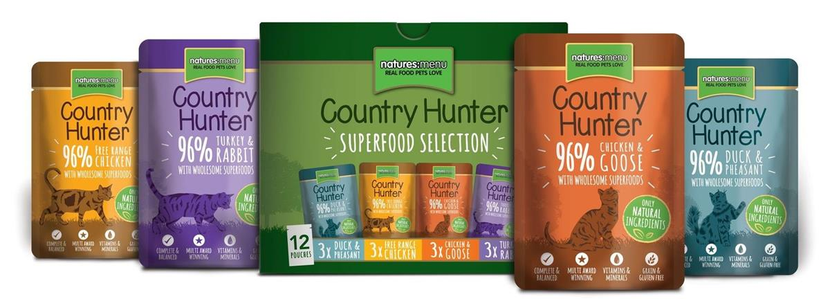 NM Pouches Katt Country Hunter Multipack 85g (12stk)