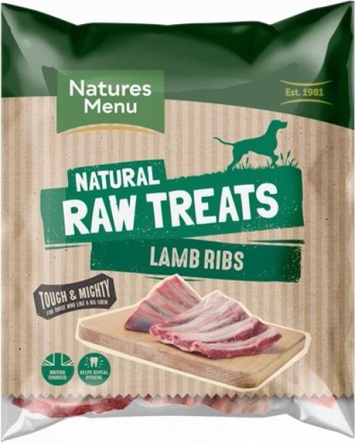 NM Frossent Tygg Lamb Rib (Ribbein fra Lam) 500g