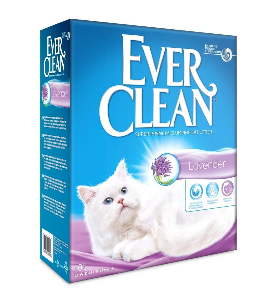 Kattesand Ever Clean Lavender 10L