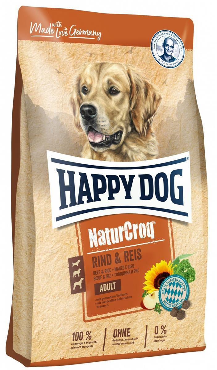 Happy Dog Natur Croq Oksekjøtt & Ris 15Kg