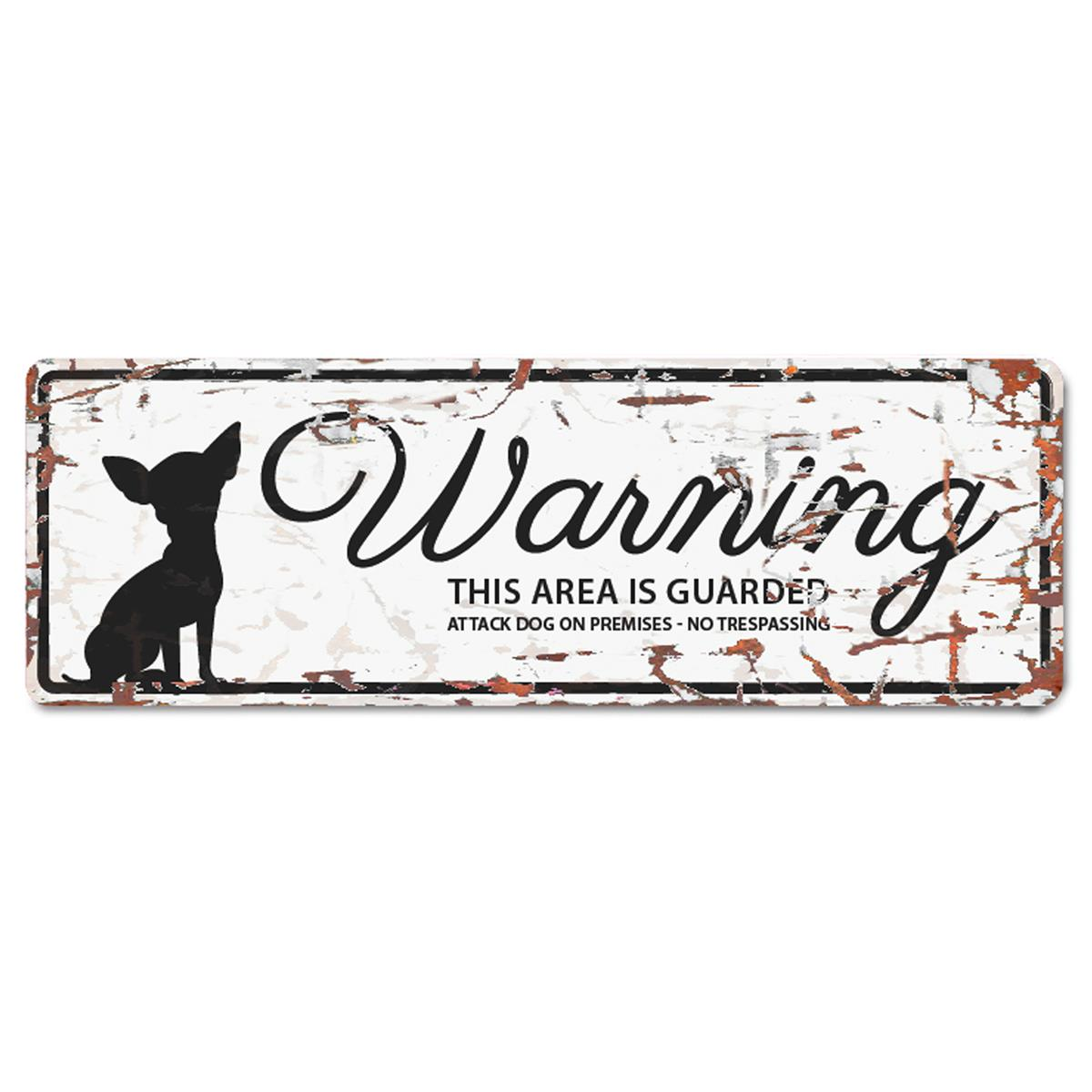 Warning Sign Mini Chihuahua