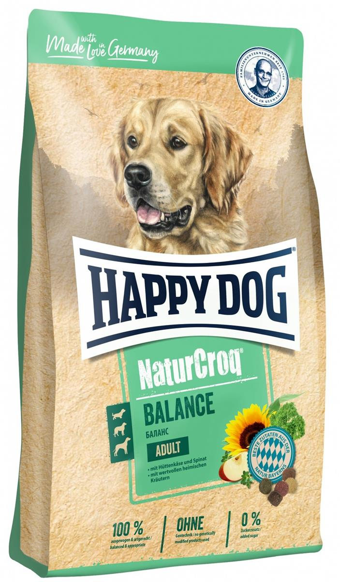 Happy Dog Natur Croq Balance M/Cottage Cheese 15Kg