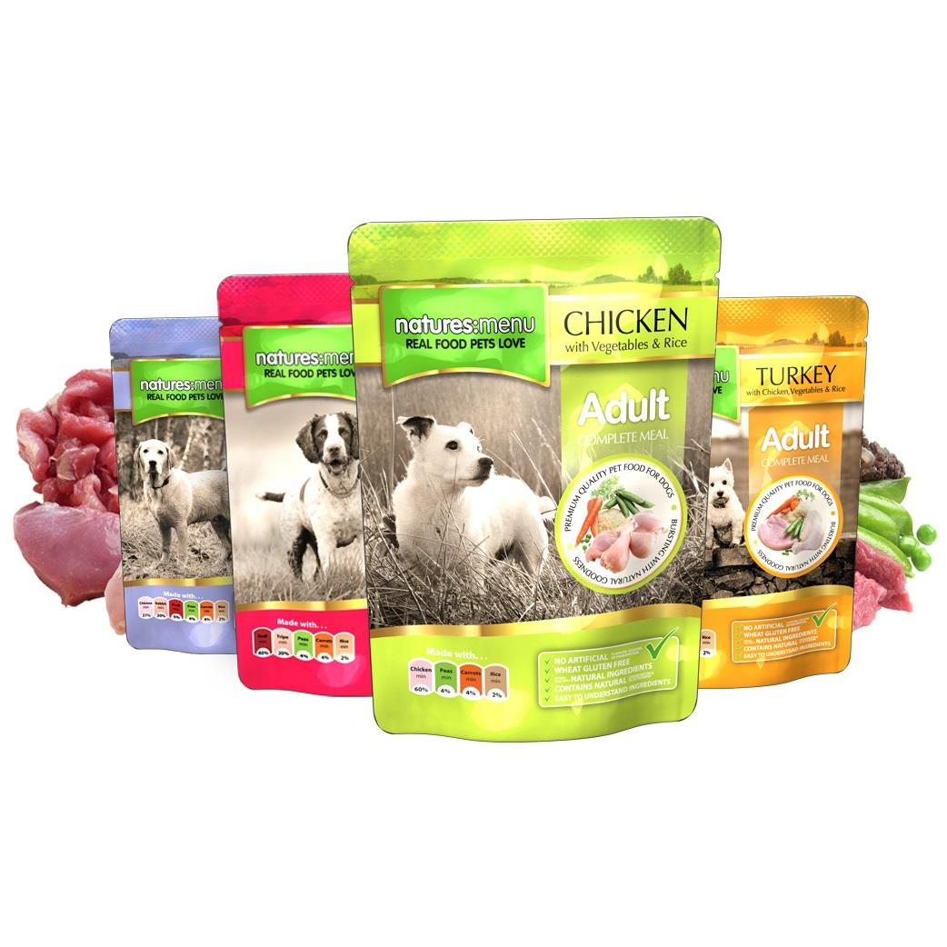 NM Pouches Hund Multipack 300g (8stk)