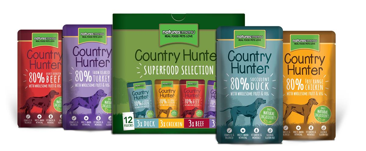 NM Pouches Hund Country Hunter Multipack 150g (12stk)