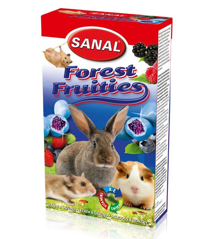 Sanal Gnager Forest Fruities Drops 50g (Pk pris 14stk)