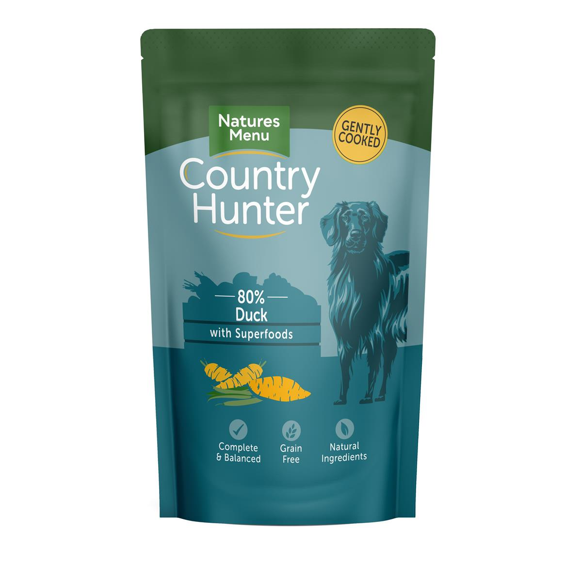 NM Pouches Hund Country Hunter Adult And 150g (6stk) Petrol