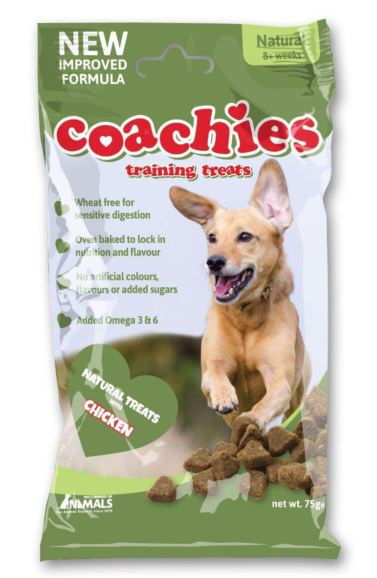 Coachies Training Treats M/Kylling 75g (12stk)