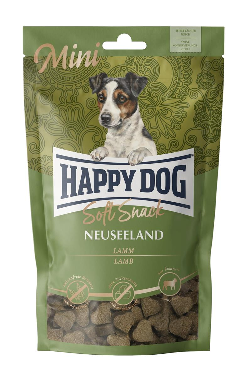 Happy Dog Supreme Soft Snack Mini Neuseeland (Lam) 100g