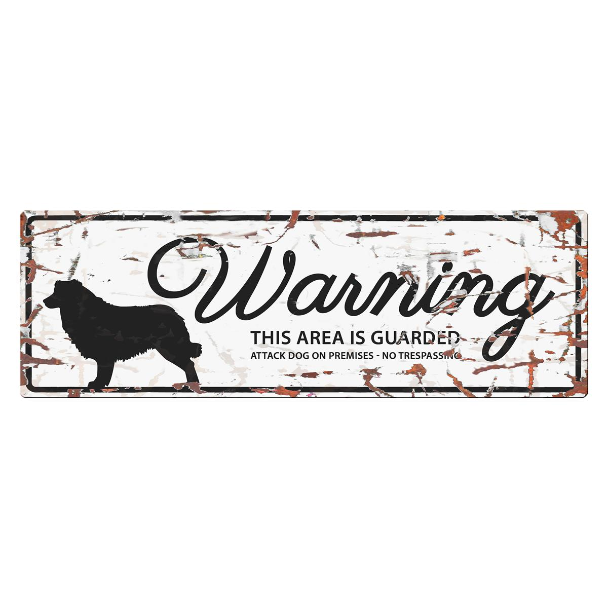 Warning Sign Collie