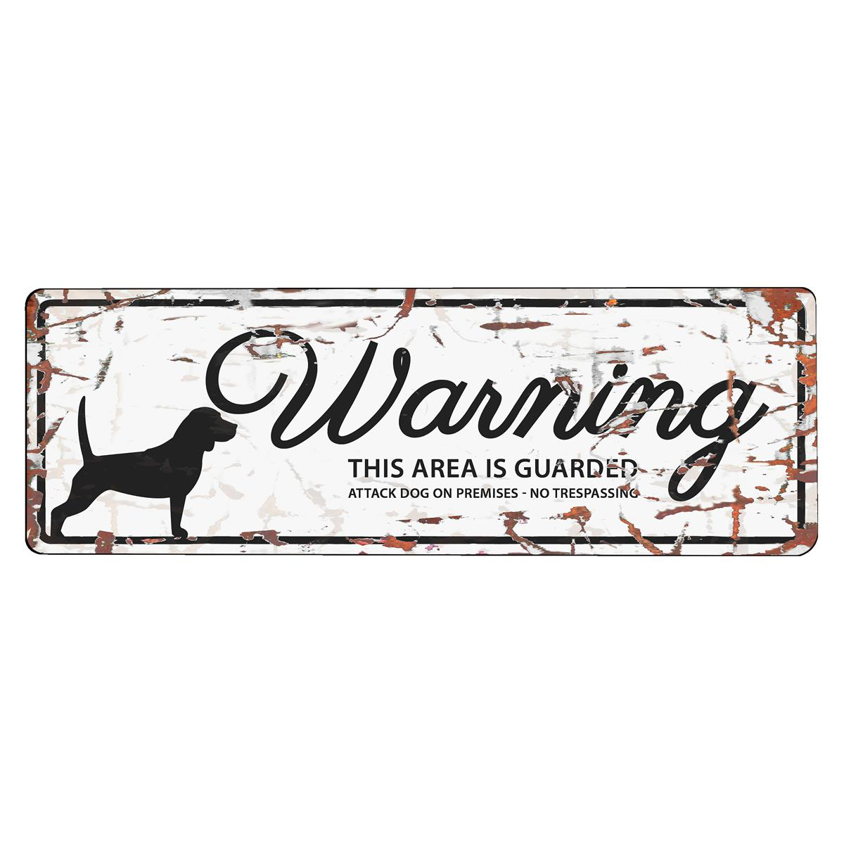 Warning Sign Beagle