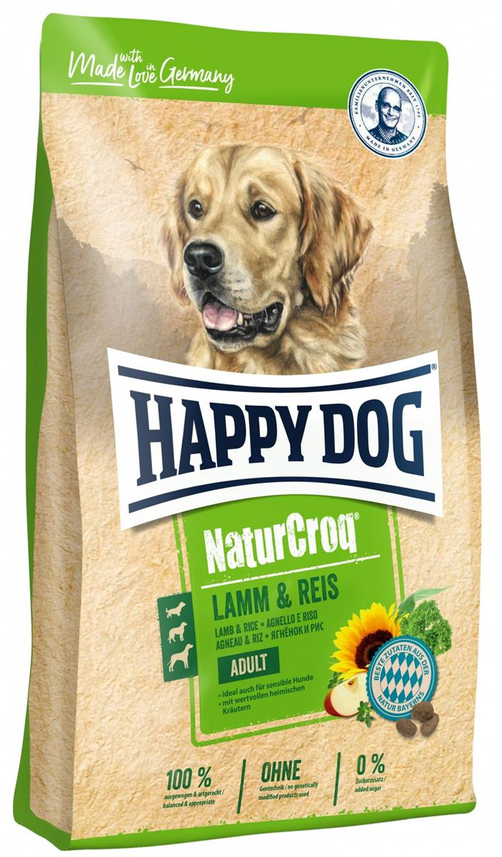 Happy Dog Natur Croq Lam & Ris 15Kg