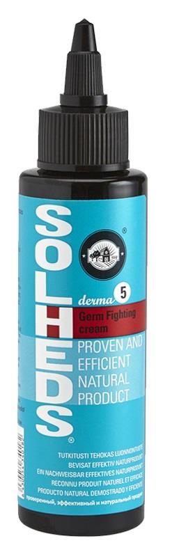 Solheds Derma 5 Germ Fighting Cream 100ml