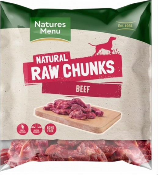 NM Frossent Tygg Beef Chunks (Biff Biter) 1Kg