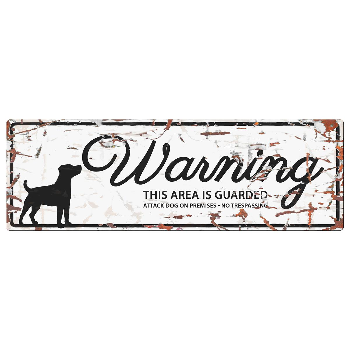 Warning Sign Jack Russel