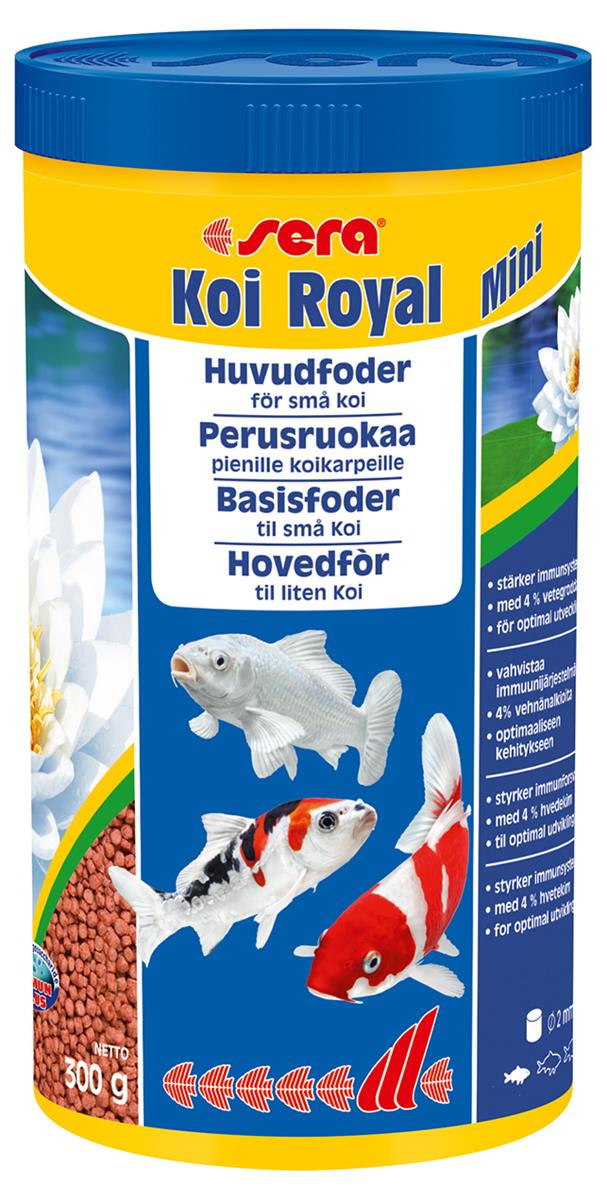 Fiskefor Sera Koi Royal Mini 1000 ml.  7110