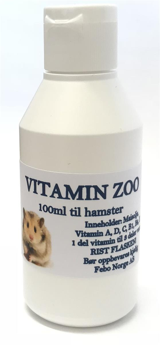 Vitamin Zoo Hamster 100ml