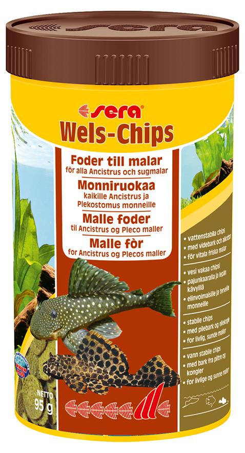 Fiskefor Sera Catfish Chips 250ml 511