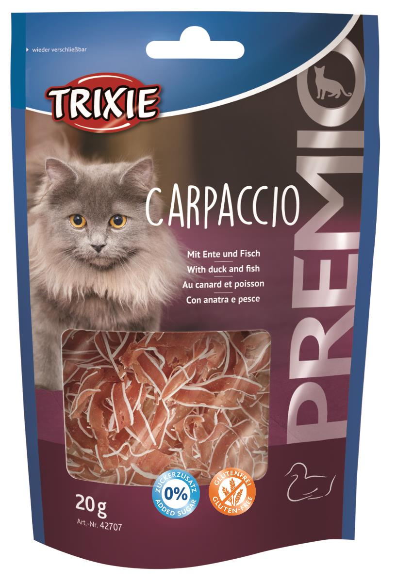 Premio Carpaccio M/And og Fisk 20g (12stk)