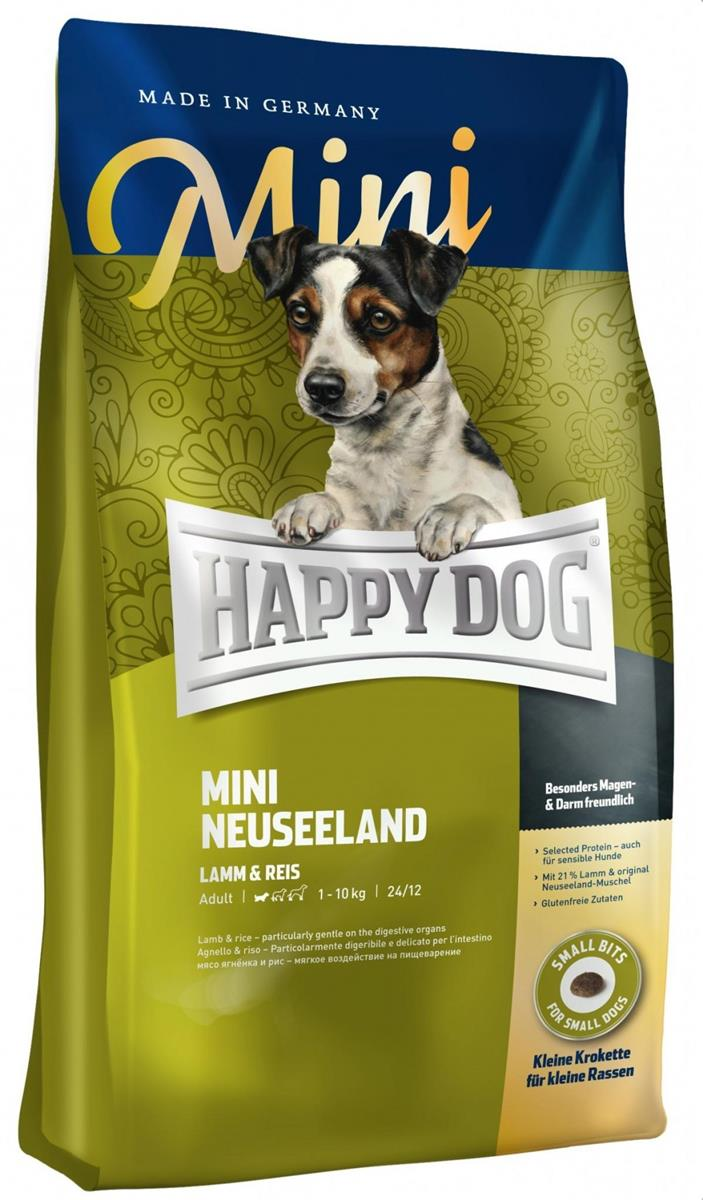 Happy Dog Supreme Sensitive Mini Neuseeland 4Kg M/21% Lam