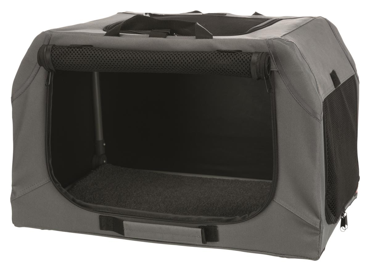 Transportbur 39731 Soft Kennel Easy XS/S 50x33x36cm Grå