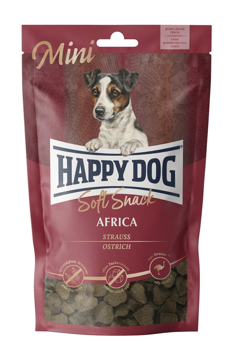 Happy Dog Supreme Soft Snack Mini Africa (Struts) 100g