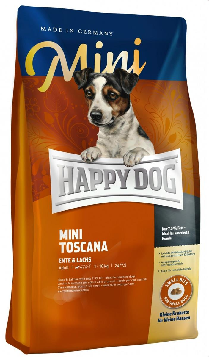Happy Dog Supreme Sensitive Mini Toscana 4Kg M/And & Laks