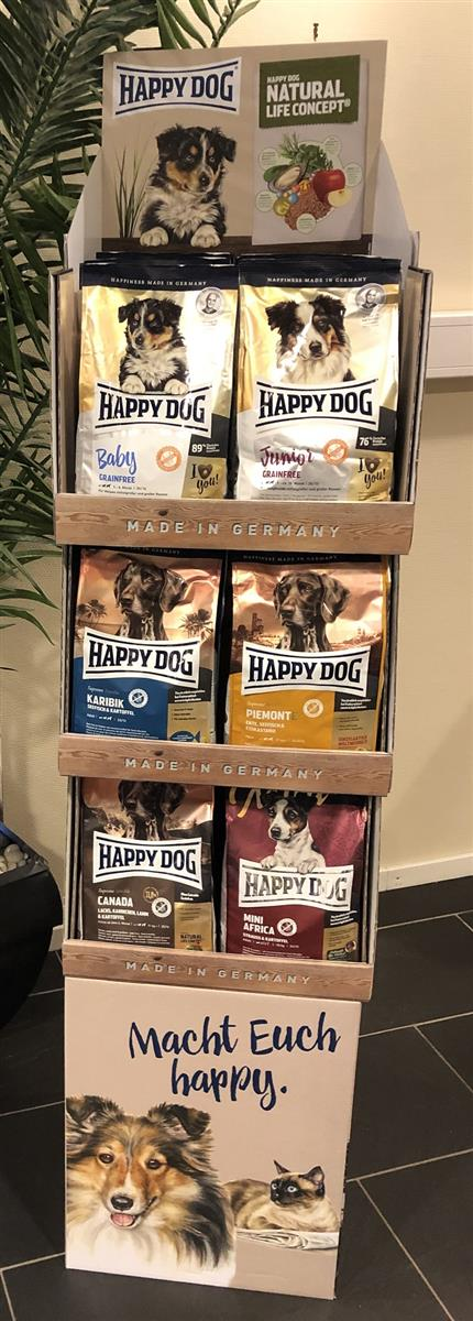 Display Happy Dog Small M/3 Hyller