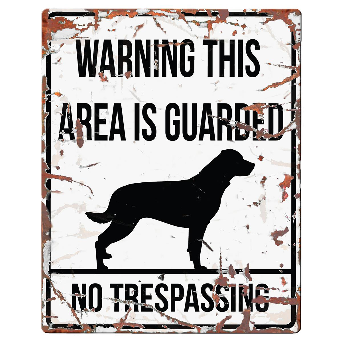 Warning Sign Rottweiler