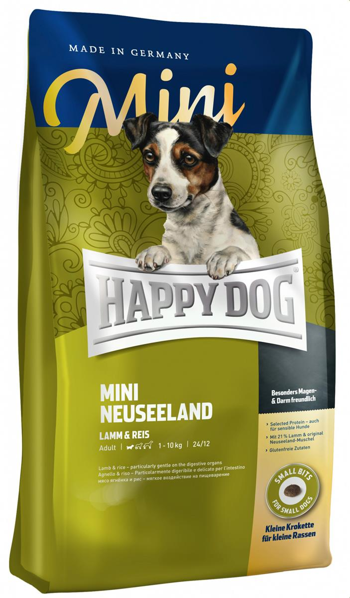 Happy Dog Supreme Sensitive Mini Neuseeland 8Kg M/21% Lam