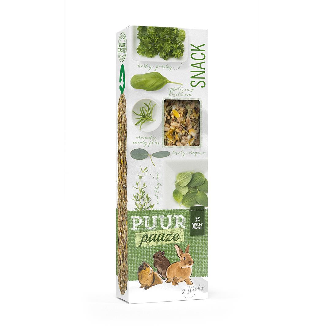 Puur Sticks Gnager M/Eucalyptus & Timian 2stk 180g