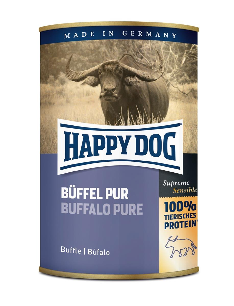 Happy Dog Boksemat 100% Bøffel 400g