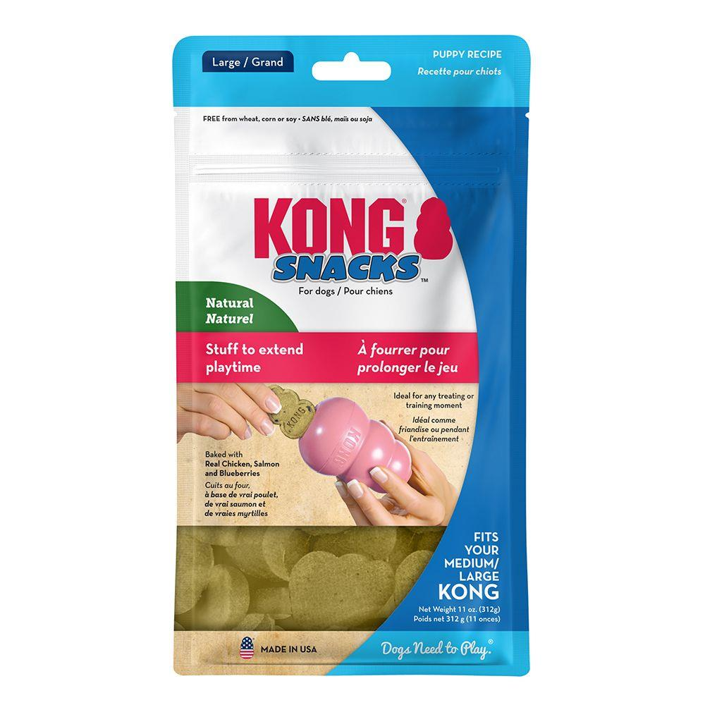 Kong Snacks Puppy M/Kyllinglever L