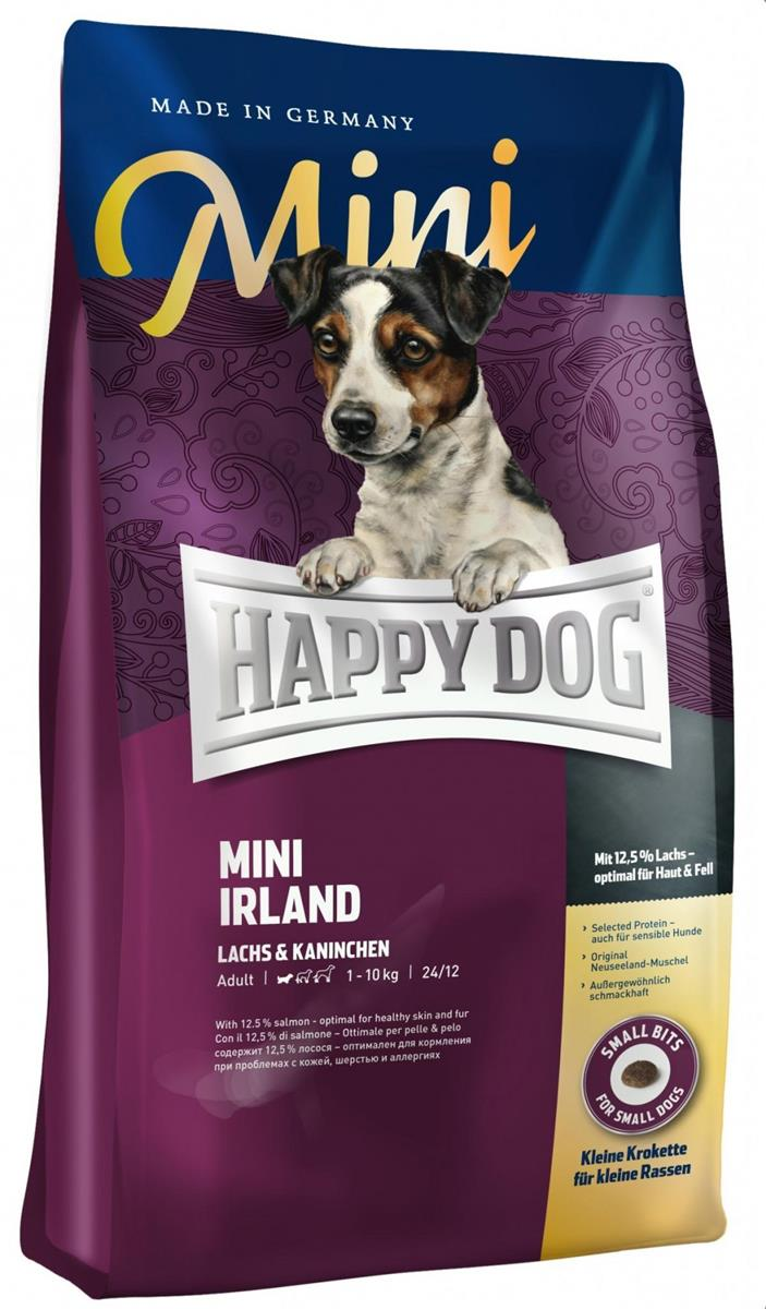 Happy Dog Supreme Sensitive Mini Irland 4Kg M/12% Laks & Kanin