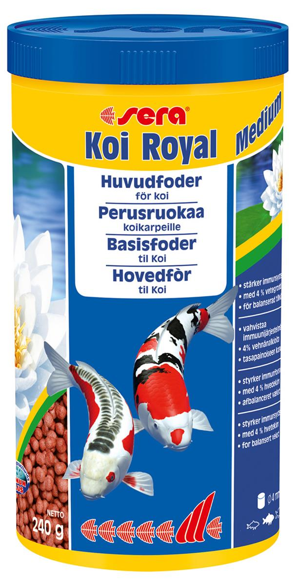 Fiskefor Sera Koi Royal Medium 1000 ml. 7115