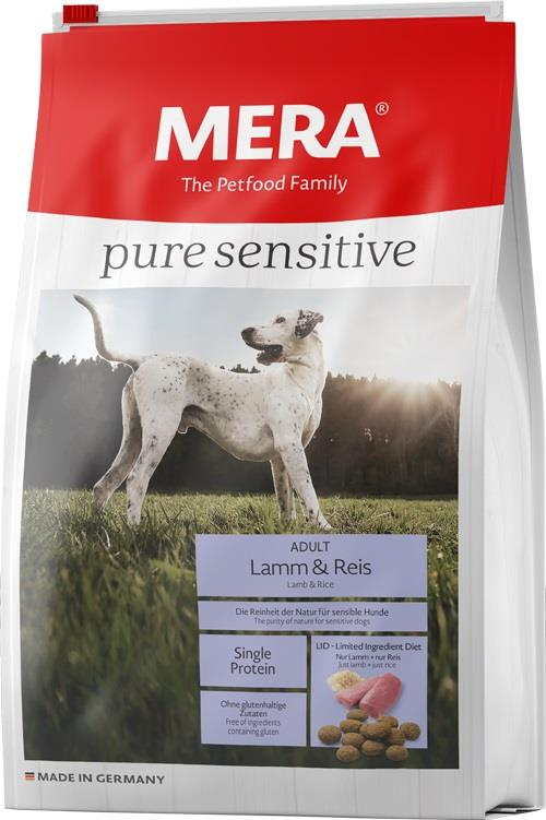 Meradog Pure Sensitive Lam & Ris 12,5Kg
