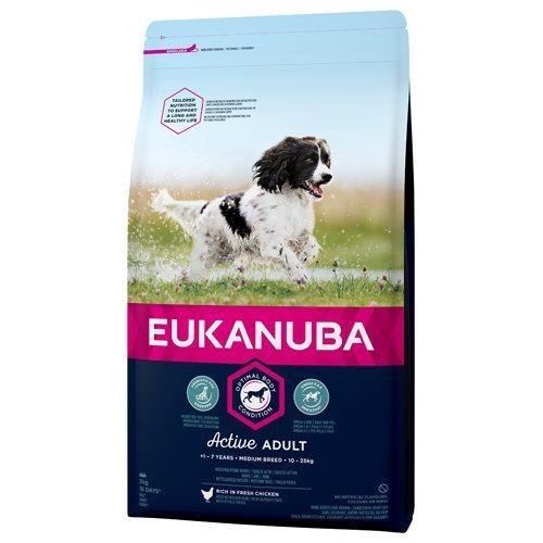 Eukanuba Dog Adult Medium Breed 3Kg