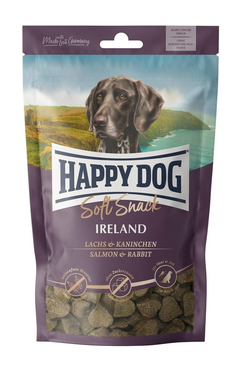 Happy Dog Supreme Soft Snack Ireland (Laks & Kanin) 100g