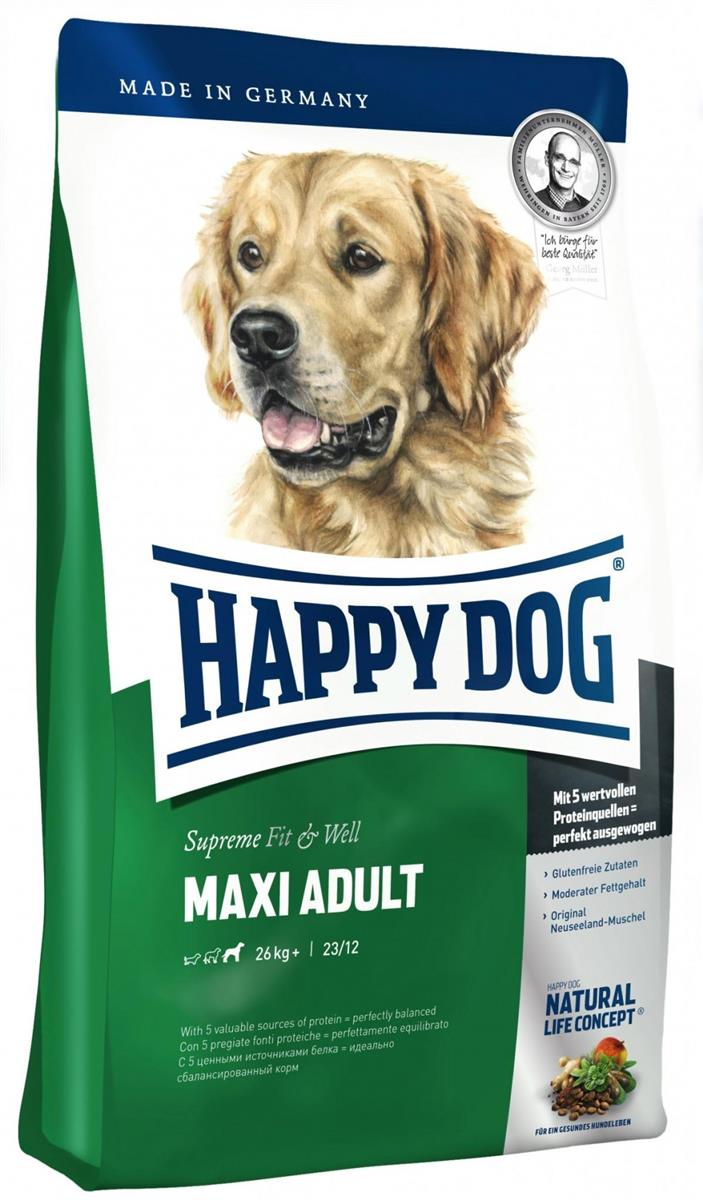 Happy Dog Supreme Fit & Well Maxi Adult 1Kg