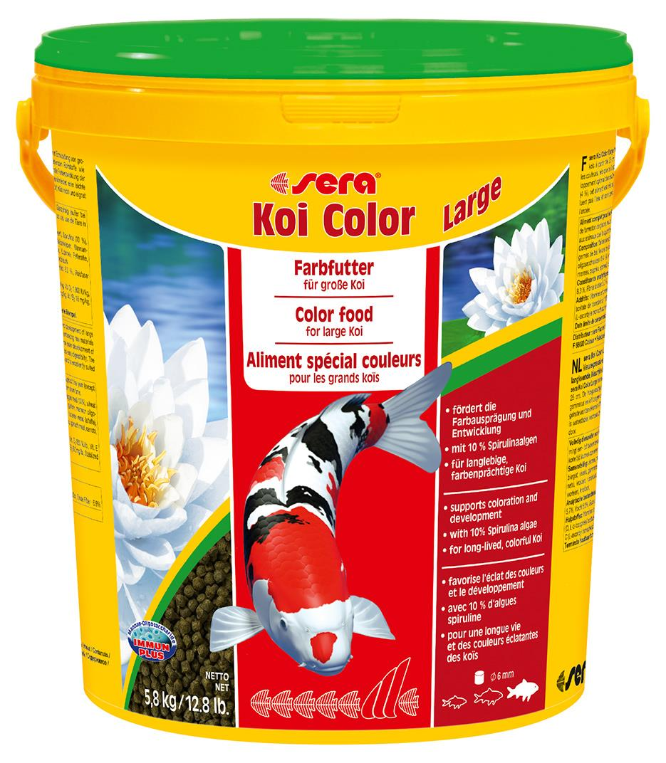 Fiskefor Sera Koi Color Large 21l. 7028