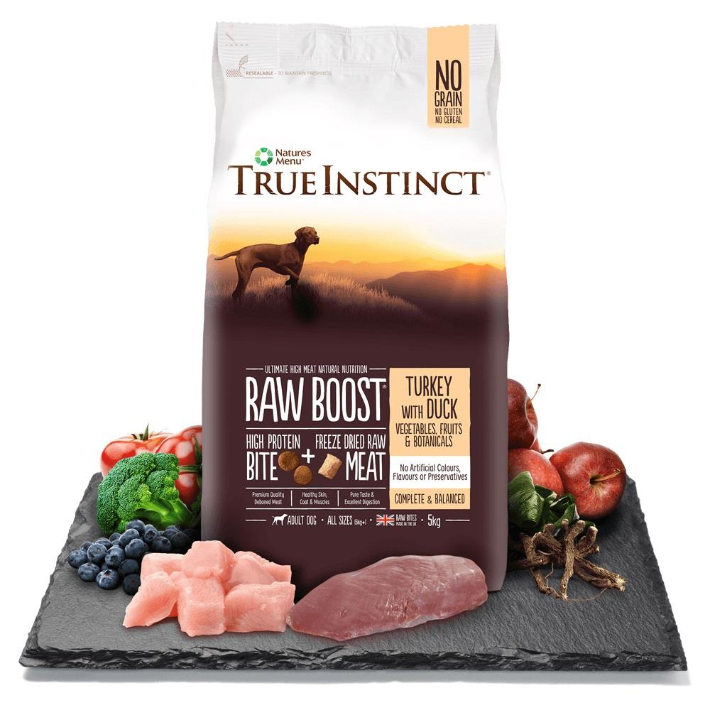 True Instinct Raw Boost Hund Kalkun & And 5Kg