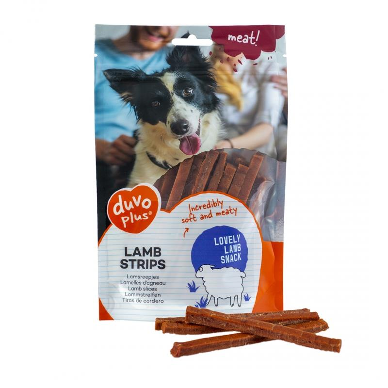 Lamb Stripes 80g Duvo Plus (10stk)