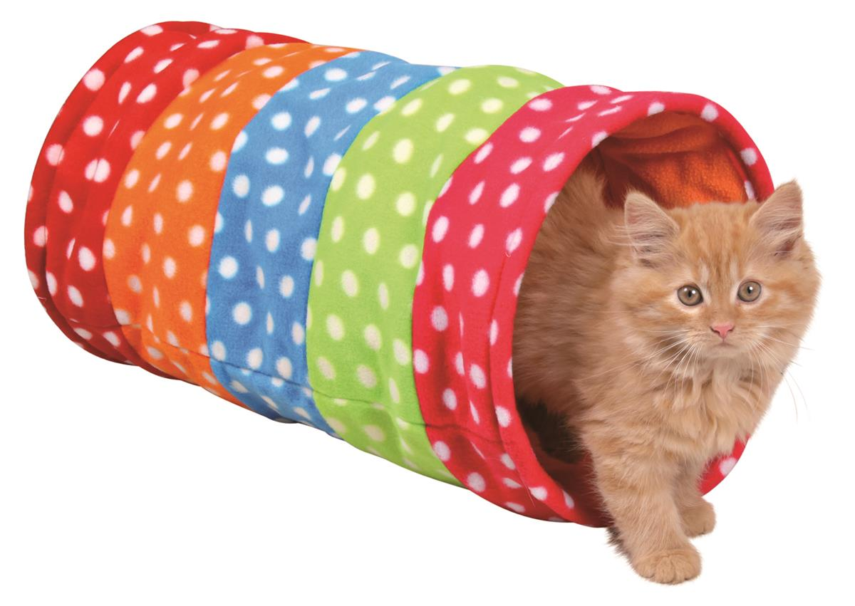 Kattetunnel 4291 Fleece 25x50cm Farget