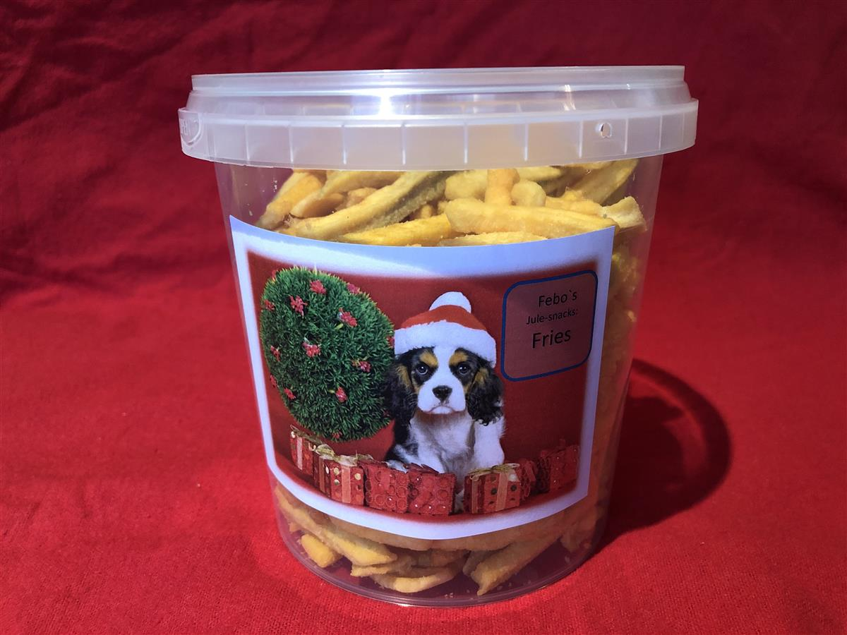 Febo jule-snacks: Fries. ca 280g