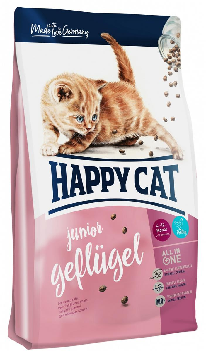 Happy Cat Supreme Junior Fugl 1,4Kg (Fra 4mnd)