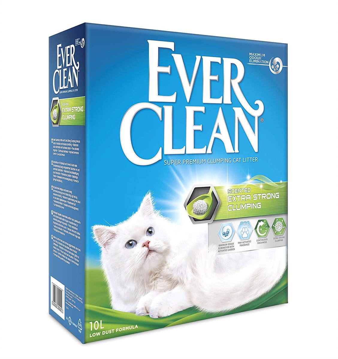 Kattesand Ever Clean Extra Strong Clumping Scented 10L