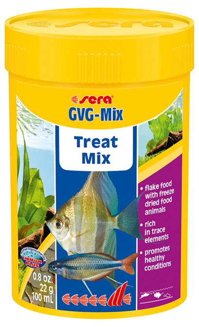 Fiskefor Sera GVG Mix 100 ml. 340