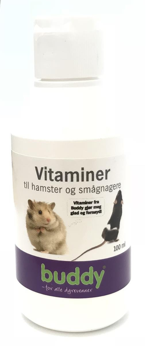 Vitamin Zoo Hamster 100ml BUDDY